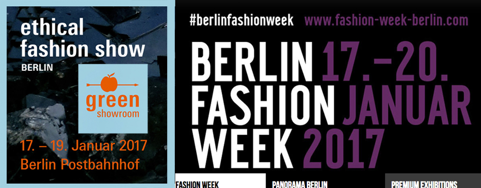 (Ethical) Fashion Week Berlin – Programmtipps