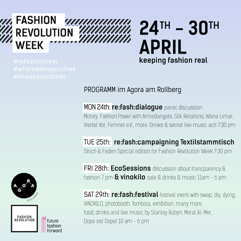 FASHION REVOLUTION WEEK BERLIN 2017
